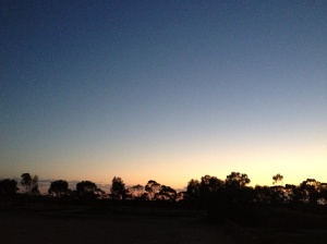 Sunrise in Mangatang