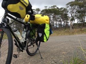 Loaded touring bike - Vivente