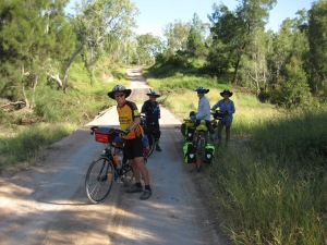 Onward ho! Leaving Fanning River camp.