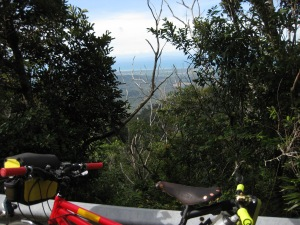 View from partway up the Paluma Range