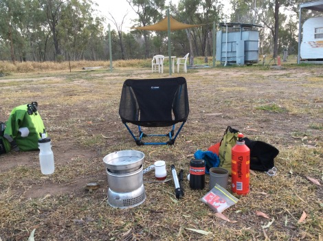 cycle touring cooking