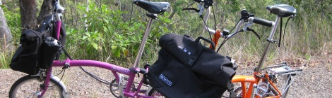 Bromptons and uphill to Paluma
