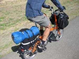 Brompton Rack Sack rear bag