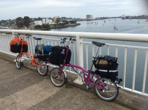 The Bicycle Pedlar does Bromptons