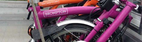 Bromptons in ute