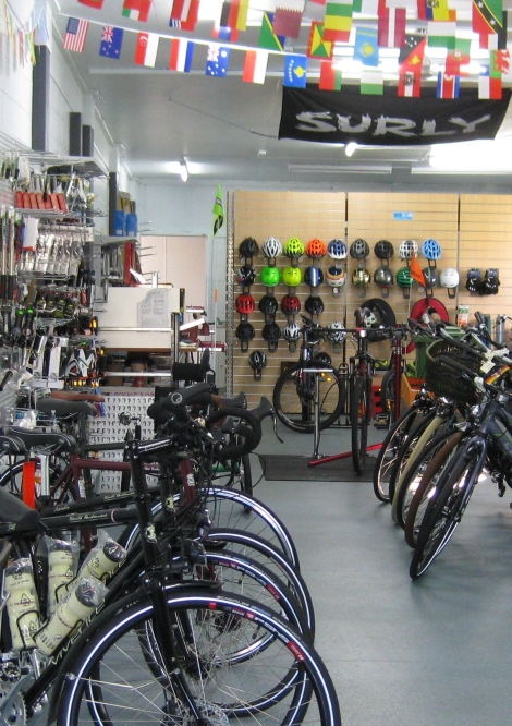 The Bicycle Pedlar - bike shop Townsville