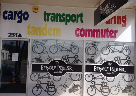 The Bicycle Pedlar - 251a Charters Towers Rd, Mysterton