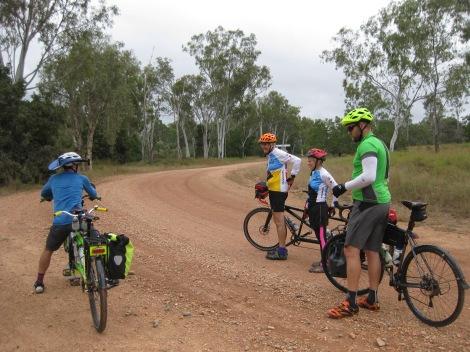 Cycle touring - Dotswood Rd - Hervey Range