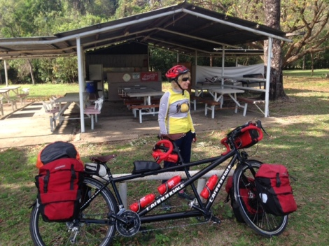 The Bicycle Pedlar - cycle touring - Palm Creek