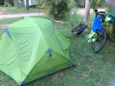 The Bicycle Pedlar - Camping at Pentland
