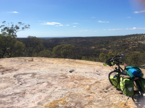The Bicycle Pedlar - White Rock Mountain lookout