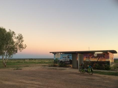 The Bicycle Pedlar - Hughenden sunrise