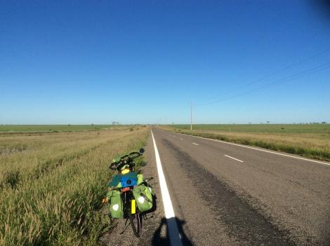 The Bicycle Pedlar - Flinders Highway to Richmond