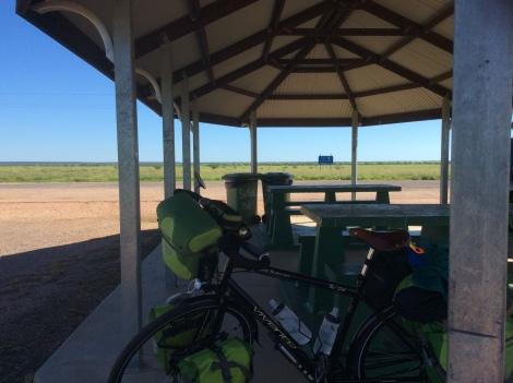 The Bicycle Pedlar - rest spot