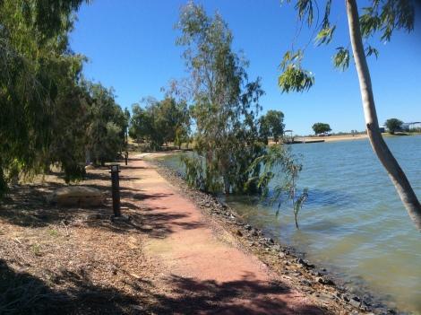 The Bicycle Pedlar - Richmond man-made lake