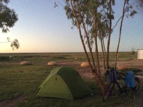 The Bicycle Pedlar - Julia Creek caravan park