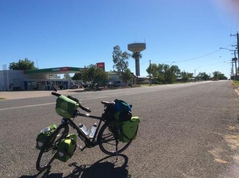 The Bicycle Pedlar - Julia Creek PUMA roadhouse