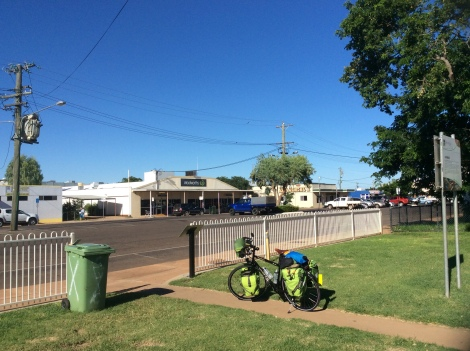 The Bicycle Pedlar - Cloncurry bakery