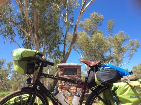 The Bicycle Pedlar - Burke & Wills Memorial