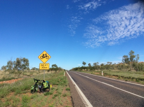 The Bicycle Pedlar - Mount Isa cycling route