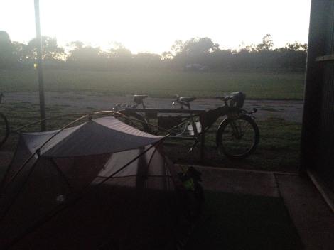 The Bicycle Pedlar - Ravenswood camping