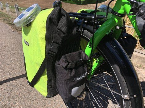 The Bicycle Pedlar - Ortlieb pannier outer pockets