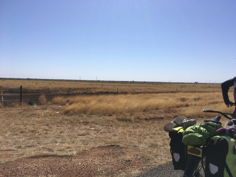 The Bicycle Pedlar - cycle touring Blackall to Tambo