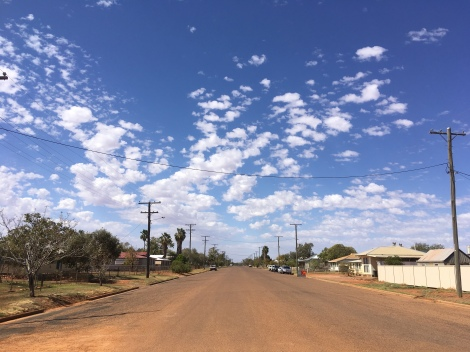 The Bicycle Pedlar - cycle touring, Quilpie