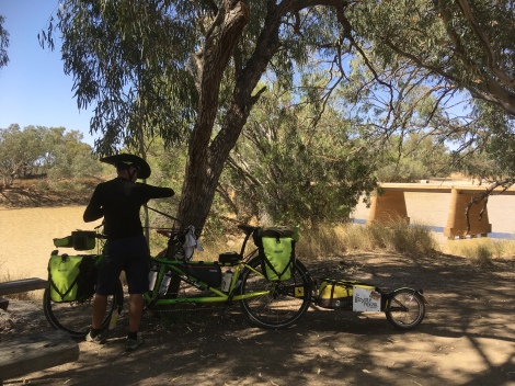The Bicycle Pedlar - Cycle touring Cooper's Creek