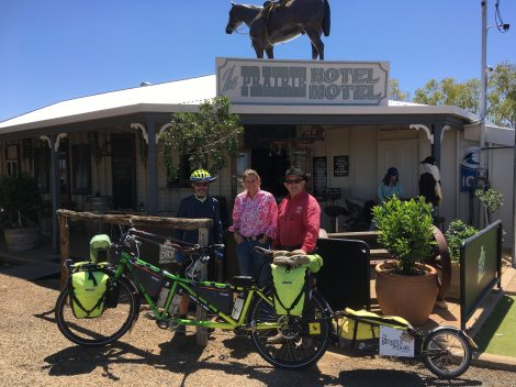 The Bicycle Pedlar - cycle touring Prairie Hotel