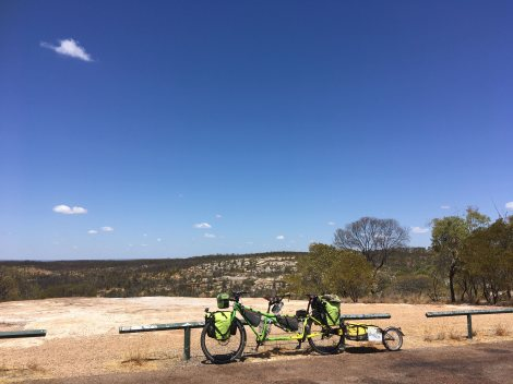 The Bicycle Pedlar - cycle touring White Rock