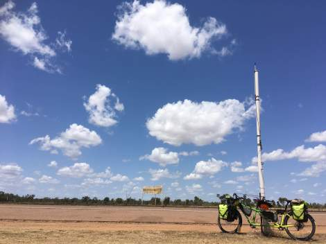 The Bicycle Pedlar - cycle touring Homestead